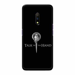 Buy Oppo Realme X TalktotheHand Mobile Phone Covers Online at Craftingcrow.com