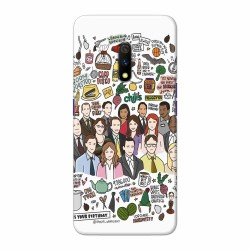 Buy Oppo Realme X TheOffice Mobile Phone Covers Online at Craftingcrow.com
