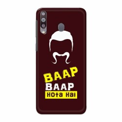 Buy Galaxy M30 BaapBaapHotaHai Mobile Phone Covers Online at Craftingcrow.com