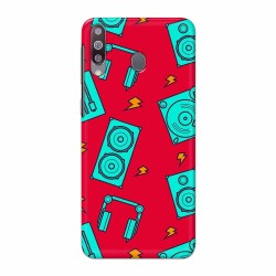 Buy Galaxy M30 Music Mobile Phone Covers Online at Craftingcrow.com