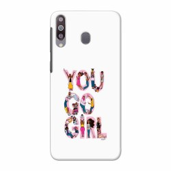 Buy Galaxy M30 YouGoGirl Mobile Phone Covers Online at Craftingcrow.com