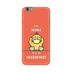 Buy Apple Iphone 6 Headaches Mobile Phone Covers Online at Craftingcrow.com