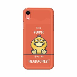 Buy Apple Iphone XR Headaches Mobile Phone Covers Online at Craftingcrow.com