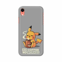 Buy Apple Iphone XR No Coffee No Workee Mobile Phone Covers Online at Craftingcrow.com