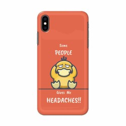 Buy Apple Iphone XS Headaches Mobile Phone Covers Online at Craftingcrow.com