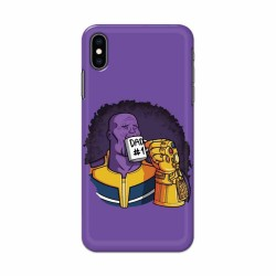 Buy Apple Iphone XS Max Dad No. 1 Mobile Phone Covers Online at Craftingcrow.com