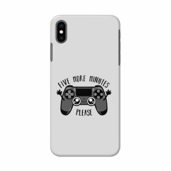 Buy Apple Iphone XS Max Five More Minutes Mobile Phone Covers Online at Craftingcrow.com