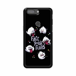Buy One Plus 5t Face Your Fears Mobile Phone Covers Online at Craftingcrow.com