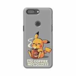 Buy One Plus 5t No Coffee No Workee Mobile Phone Covers Online at Craftingcrow.com