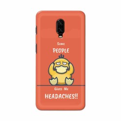 Buy One Plus 7 Headaches Mobile Phone Covers Online at Craftingcrow.com