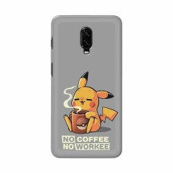 Buy One Plus 7 No Coffee No Workee Mobile Phone Covers Online at Craftingcrow.com
