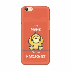 Buy Oppo A57 Headaches Mobile Phone Covers Online at Craftingcrow.com