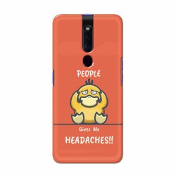 Buy Oppo F11 Pro Headaches Mobile Phone Covers Online at Craftingcrow.com