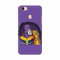 Buy Oppo F5 Dad No. 1 Mobile Phone Covers Online at Craftingcrow.com