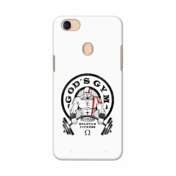 Buy Oppo F5 Gods Gym Mobile Phone Covers Online at Craftingcrow.com