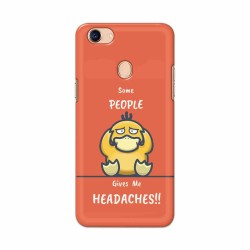 Buy Oppo F5 Headaches Mobile Phone Covers Online at Craftingcrow.com