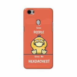 Buy Oppo F7 Headaches Mobile Phone Covers Online at Craftingcrow.com