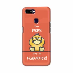 Buy Oppo F9 Headaches Mobile Phone Covers Online at Craftingcrow.com