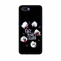 Buy Oppo K1 Face Your Fears Mobile Phone Covers Online at Craftingcrow.com