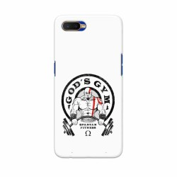 Buy Oppo K1 Gods Gym Mobile Phone Covers Online at Craftingcrow.com
