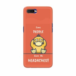 Buy Oppo K1 Headaches Mobile Phone Covers Online at Craftingcrow.com