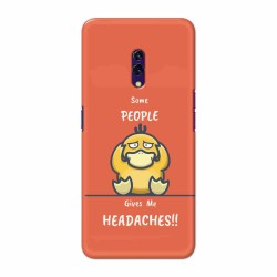 Buy Oppo K3 Headaches Mobile Phone Covers Online at Craftingcrow.com