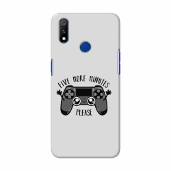 Buy Oppo Realme 3 Pro Five More Minutes Mobile Phone Covers Online at Craftingcrow.com