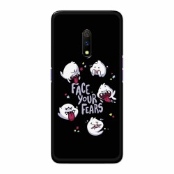Buy Oppo Realme X Face Your Fears Mobile Phone Covers Online at Craftingcrow.com