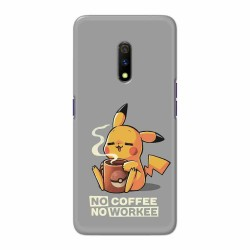 Buy Oppo Realme X No Coffee No Workee Mobile Phone Covers Online at Craftingcrow.com