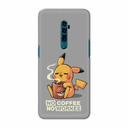 Buy Oppo Reno 10x Zoom No Coffee No Workee Mobile Phone Covers Online at Craftingcrow.com