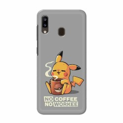 Buy Samsung Galaxy A20 No Coffee No Workee Mobile Phone Covers Online at Craftingcrow.com