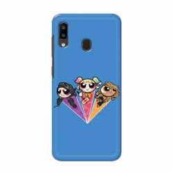 Buy Samsung Galaxy A20 Powerpuff Birds Mobile Phone Covers Online at Craftingcrow.com