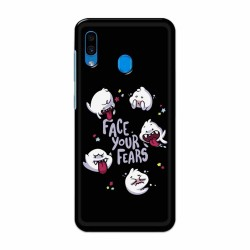 Buy Samsung Galaxy A30 Face Your Fears Mobile Phone Covers Online at Craftingcrow.com