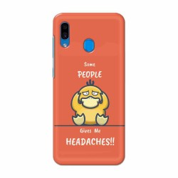 Buy Samsung Galaxy A30 Headaches Mobile Phone Covers Online at Craftingcrow.com