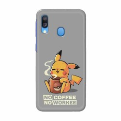 Buy Samsung Galaxy A40 No Coffee No Workee Mobile Phone Covers Online at Craftingcrow.com