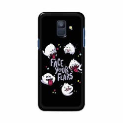 Buy Samsung Galaxy A6 2018 Face Your Fears Mobile Phone Covers Online at Craftingcrow.com