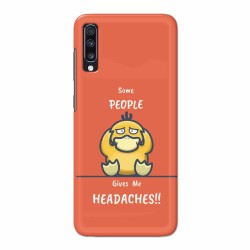 Buy Samsung Galaxy A70 Headaches Mobile Phone Covers Online at Craftingcrow.com