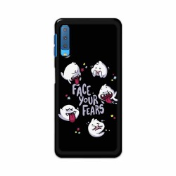 Buy Samsung Galaxy A7 2018 Face Your Fears Mobile Phone Covers Online at Craftingcrow.com