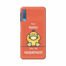 Buy Samsung Galaxy A7 2018 Headaches Mobile Phone Covers Online at Craftingcrow.com