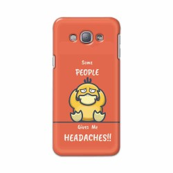 Buy Samsung Galaxy A8 Headaches Mobile Phone Covers Online at Craftingcrow.com