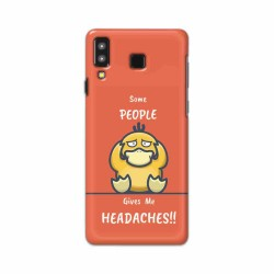 Buy Samsung Galaxy A8 Star Headaches Mobile Phone Covers Online at Craftingcrow.com