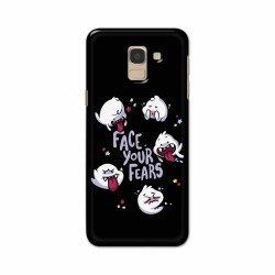 Buy Samsung Galaxy J6 2018 Face Your Fears Mobile Phone Covers Online at Craftingcrow.com