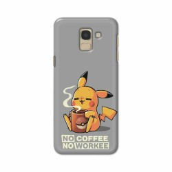 Buy Samsung Galaxy J6 2018 No Coffee No Workee Mobile Phone Covers Online at Craftingcrow.com