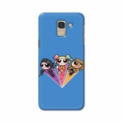 Buy Samsung Galaxy J6 2018 Powerpuff Birds Mobile Phone Covers Online at Craftingcrow.com