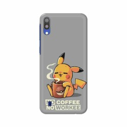 Buy Samsung Galaxy M10 No Coffee No Workee Mobile Phone Covers Online at Craftingcrow.com
