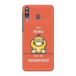 Buy Samsung Galaxy M30 Headaches Mobile Phone Covers Online at Craftingcrow.com