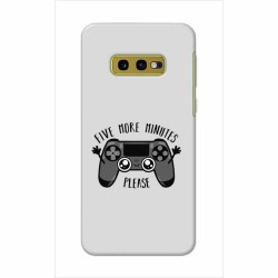 Buy Samsung Galaxy S10e Five More Minutes Mobile Phone Covers Online at Craftingcrow.com