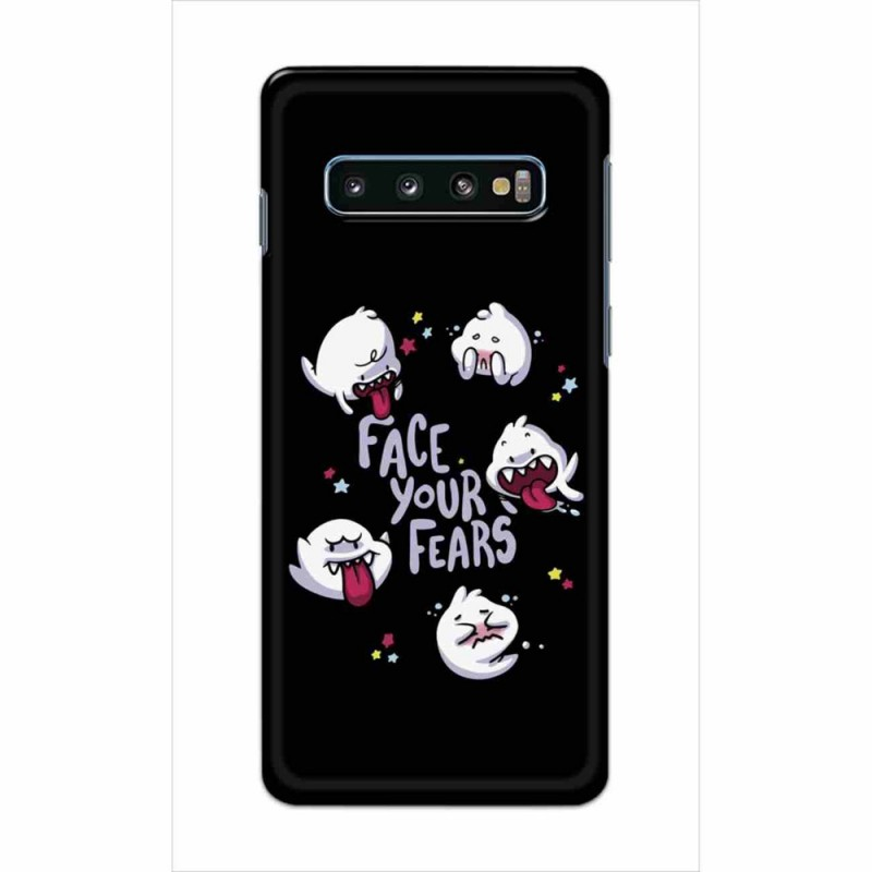 Buy Samsung Galaxy S10 Plus Face Your Fears Mobile Phone Covers Online at Craftingcrow.com