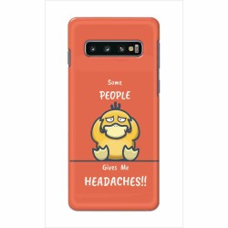 Buy Samsung Galaxy S10 Plus Headaches Mobile Phone Covers Online at Craftingcrow.com