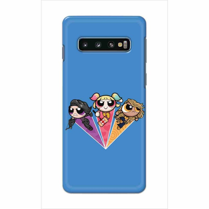 Buy Samsung Galaxy S10 Powerpuff Birds Mobile Phone Covers Online at Craftingcrow.com